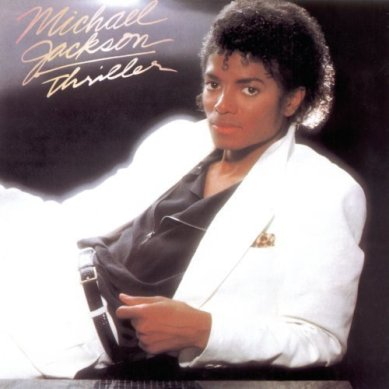 The 'Thriller' album is my personal favorite.  It is connected to many happy childhood memories for me.