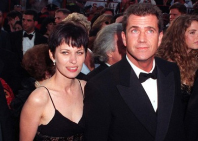 Mel Gibson with Former Wife of 30 years Robin!