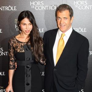 Mel Gibson and Oksana