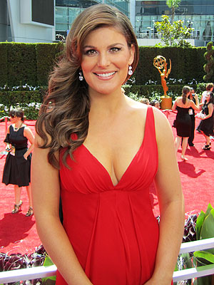 Krsitin Dos Santos 2010 Primetime Emmy Awards!  Baby due in February!