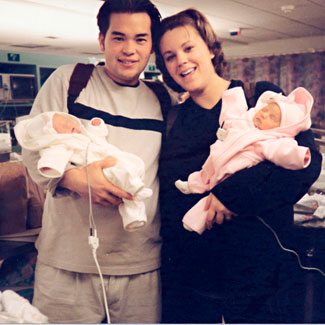 Jon and Kate With Their Twins!