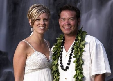 In Hawaii Renewing Wedding Vows Only Months Before Their Separation:  This was literally the beginning of the end of Jon and Kate Gosselin.