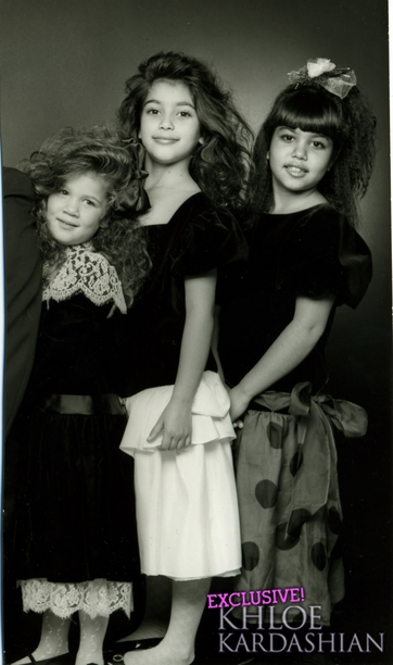 Kardashian Sisters As Kids