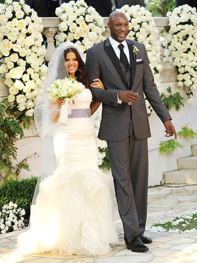 Khloe and Lamar's Wedding Day