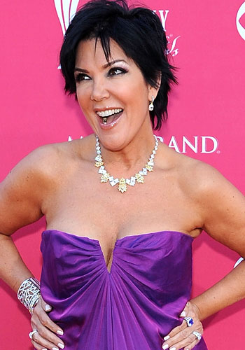 Kris Jenner: She has a lot to smile about...