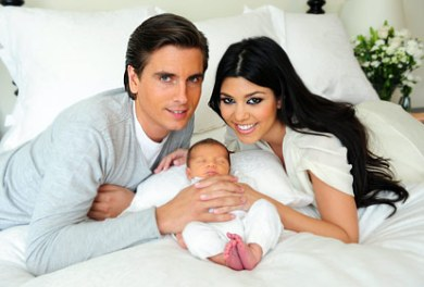 "Kourtney and Her Boyfriend ""Baby Daddy"" Scott"
