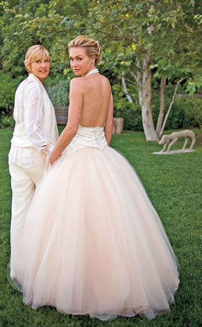 Beautiful Married Couple Ellen and Portia DeGeneres