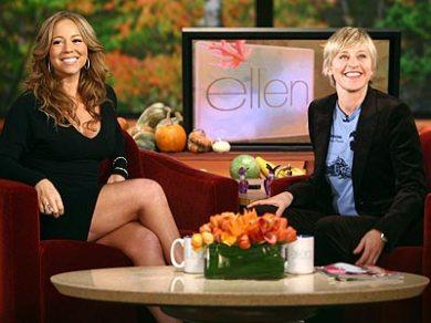 Guest of Ellen's Mariah Carey!