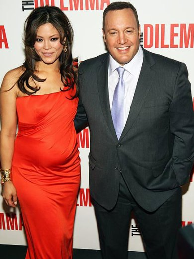 Actor Kevin James w/Gorgeous Wife And Baby Bump.