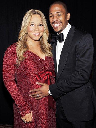 Mariah Carey w/Husband Nick Cannon Having Twins!